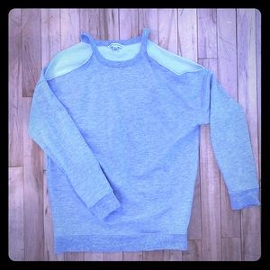 American Eagle Peep Shoulder Sweatshirt